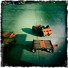 Airport Trolleys by Mark Higgins