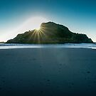Back Beach, New Plymouth by Dean Mullin