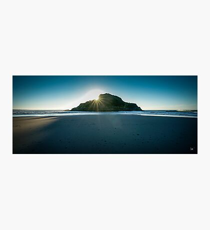 Back Beach, New Plymouth Photographic Print