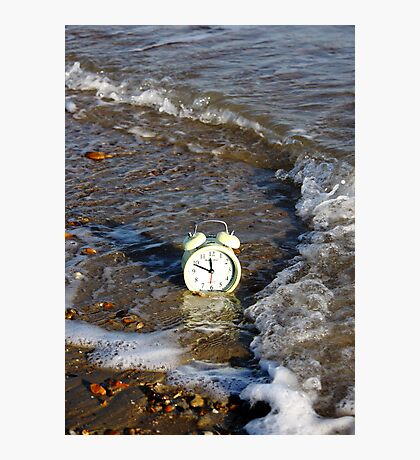 Time and Tide... Photographic Print