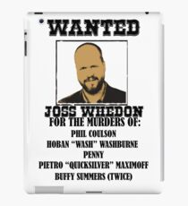 Joss Whedon: Wanted (2) iPad Case/Skin