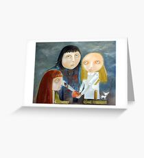 Siblings - Peace Treaty Greeting Card