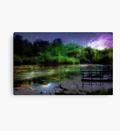 Magic Night © Canvas Print