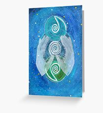 Mandala : Give and Receive Greeting Card