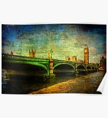 Westminster Bridge & Big Ben Poster