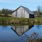 Quiet country reflection by Heather Crough