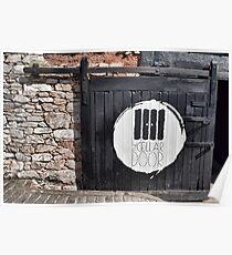 Cellar Door At Exeter Quays Poster
