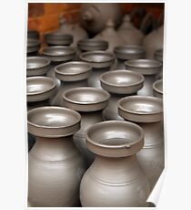 Drying Pots Bhakatpur Poster
