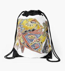 round about Drawstring Bag