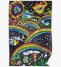 Rainbow Bright Poster