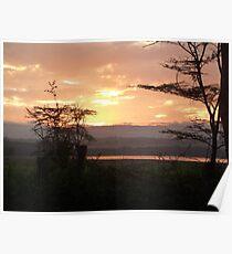 Early Rise over Lake Nakuru Poster