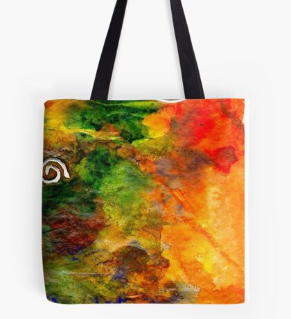 Headed to the River to THINK Awhile Tote Bag