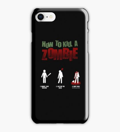 Zombies!!!! iPhone Case/Skin