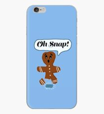 Oh Snap Ginger Bread Man  iPhone Case