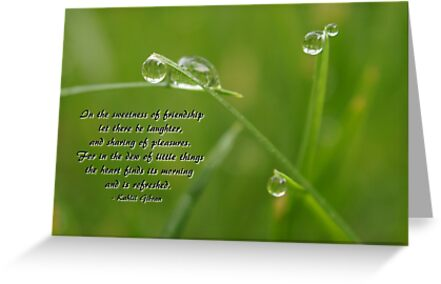 Friendship Card 1 or Print by Offshoots12