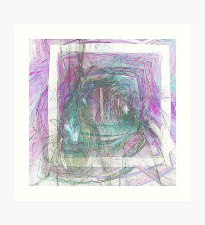 Pastel Shades #1 Art Print