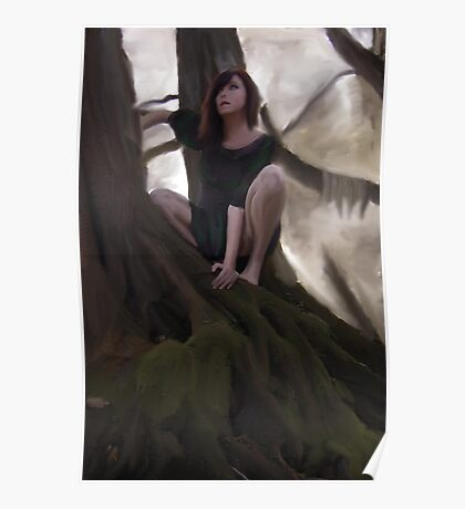 Spirt in the trees Poster