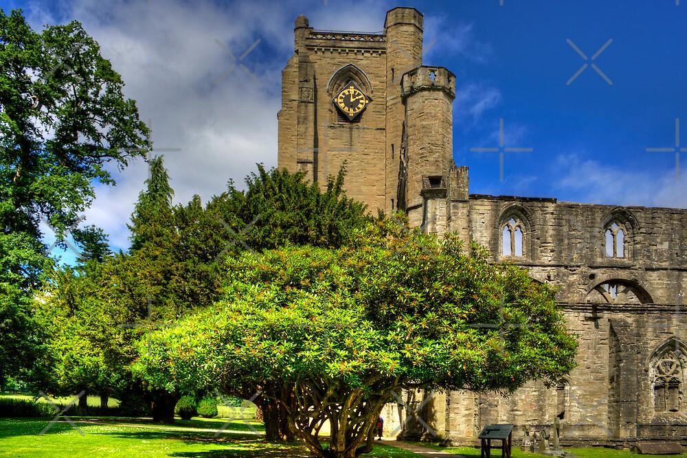 Dunkeld Cathedral II by Tom Gomez