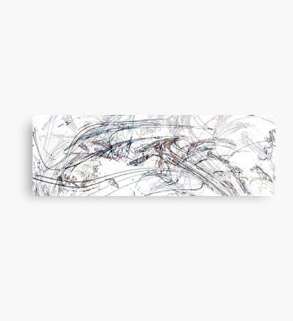 Structured Poem Canvas Print