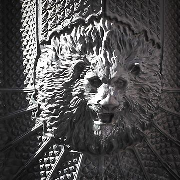 Lion head by Ikrus