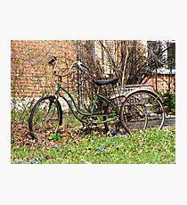 Retrocycle Photographic Print