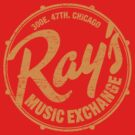 Ray's Music Exchange (worn look) by KRDesign
