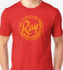 Ray's Music Exchange (getragenes Aussehen) Slim Fit T-Shirt