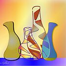 Four little jugs by IrisGelbart