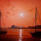 Yacht Reflections... by Cherie Roe Dirksen