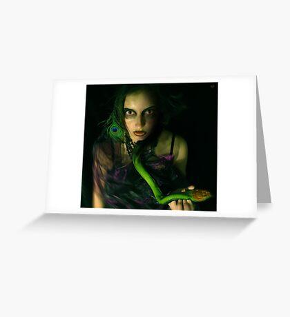 snakebite Greeting Card