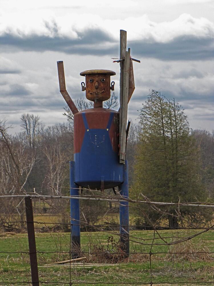 Scarecrow Tin Man by nikspix