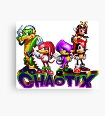 Chaotix - SEGA 32X Title Screen Canvas Print