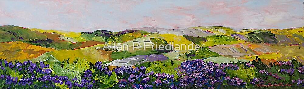 Violet Sunrise by Allan P Friedlander