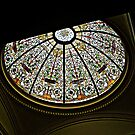 Stained Glass Dome, New Jersey Senate State House by Jane Neill-Hancock