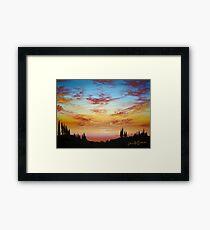 Sky Paradise Framed Print