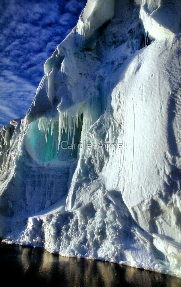 Iceberg Giant, Cape Roget, Antarctica by Carole-Anne