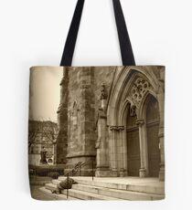 Help Me Lord [Original Print in Sepia] Tote Bag