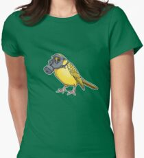 The Birds Aren't Singing Womens Fitted T-Shirt