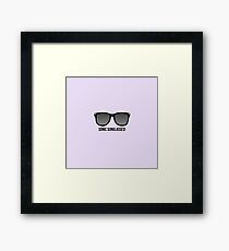Doctor Who Sonic Sunglasses Framed Print