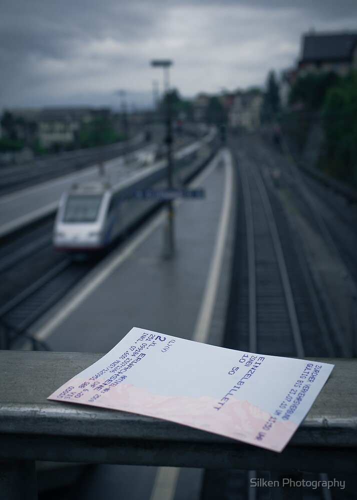 Ticket to Anywhere by Silken Photography