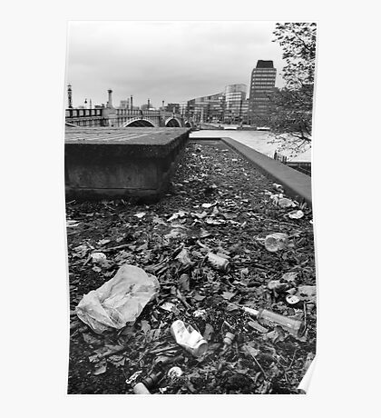 City of Litter - London Poster