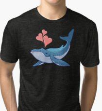 Whale Love! Tri-blend T-Shirt