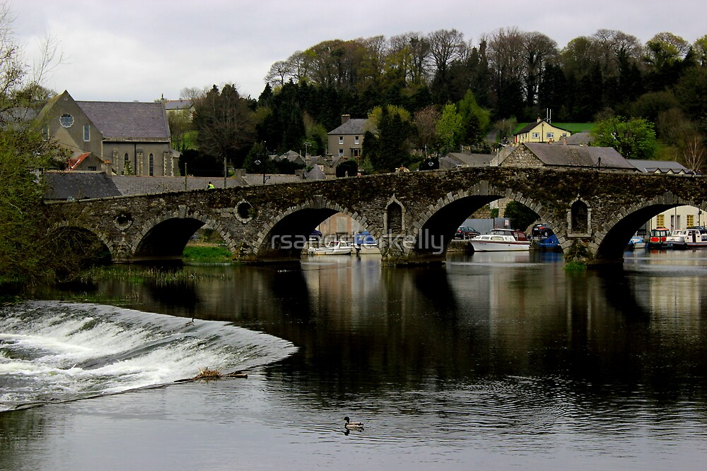 Graiguenamanagh - Bridge Over The Barrow River by rsangsterkelly