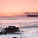 Sunset at Birling Gap by Ian Elmes