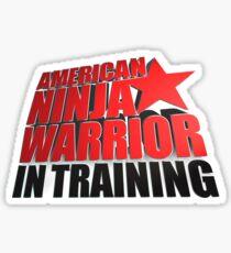 AMERICAN NINJA WARRIOR IN TRAINING Sticker