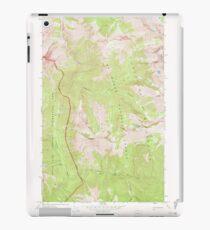 USGS Topo Map Washington State WA Skagit Peak 243737 1969 24000 iPad Case/Skin