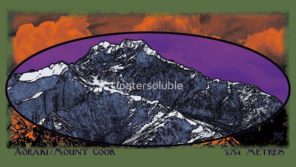 aoraki / mt. cook 3,754 metres by dennis william gaylor