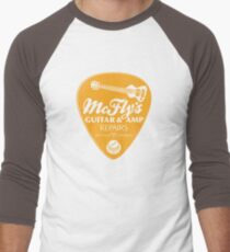 McFly's Repairs - Orange Men's Baseball ¾ T-Shirt