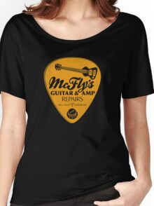 McFly's Repairs - Orange Women's Relaxed Fit T-Shirt