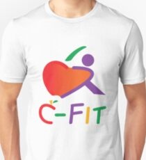 The Apple with C-Fit Text Unisex T-Shirt